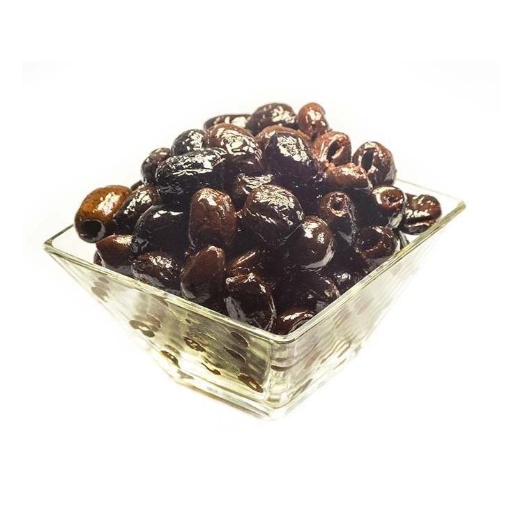 Olives Noires a La Grecque Dénoyautées (Barquette)
