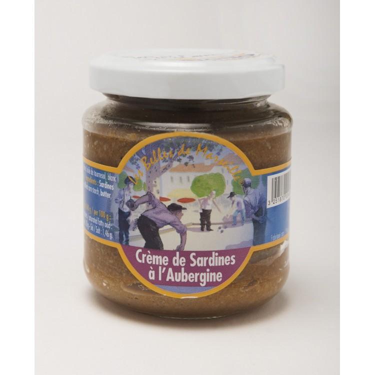 Crème de Sardines à l'Aubergine