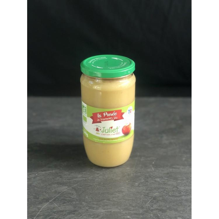 Purée de Pommes Bio (840g)