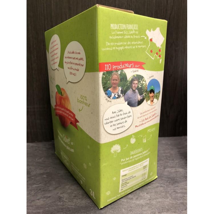 Pur Jus de Pommes Bio - Cubis 3L