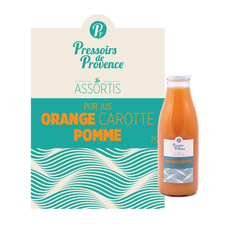 Jus Orange Carotte Pomme
