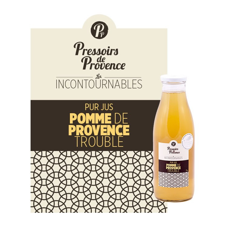Jus Pomme de Provence Trouble